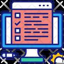 Internet Online Survey Icon