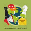 Internet Marketing Strategy Icon