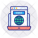 Internet Article Layout Blogs Icon