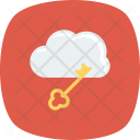 Internet Key Lock Icon