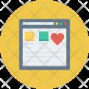 Internet Page Web Icon