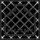 Internet Socket Lan Icon