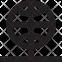 Internet Server Globe Icon
