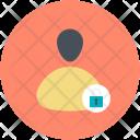 Internet User Lock Icon