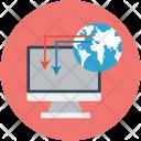 Internet Connectivity Worldwide Icon