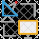Internet Satellite Wireless Icon