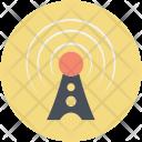 Internet Tower Signals Icon