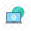 Internet Explorer Network Icon