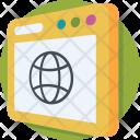 Internet Globe Network Icon