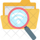 Internet File Search Folder Search Icon
