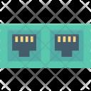 Internet Outlet Plug Icon