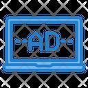 Internet Advertising Icon