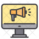 Internet Advertising Online Marketing Advertising Icon