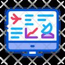 Internet Air Navigation Icon