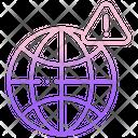 Internet Alert Icon