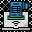 Internet Bill Icon