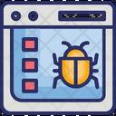 Internet Bot Online Spider Crawling Web Crawler Icon