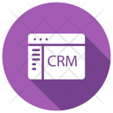 Internet Browser Crm Icon