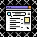Internet Browsing Web Browsing Browser Icon