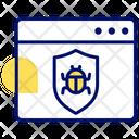 Internet Bug Internet Error Virus Icon