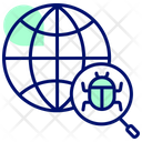 Internet Bug Internet Virus Virus Icon