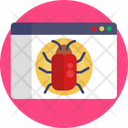 Internet Bug Browser Bug Virus Icon