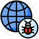 Internet Bug Internet Bug Icon