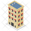 Internet Cafe Building Commercial Building Icon