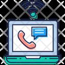 Internet Call Icon