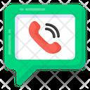 Online Call Internet Call Internet Talk Icon