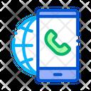 Internet Calling Icon