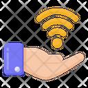 Internet Provider Internet Care Wifi Care Icon