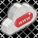 Internet Cloud Cloud Computing Cloud Hosting Icon