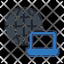 Browser Internet Laptop Icon