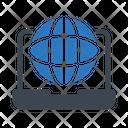 Internet Browser Laptop Icon