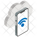 Internet Connection Cloud Network Wireless Connection Icon