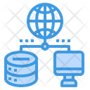 Network Global Internet Icon