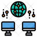 Computer Global Network Icon