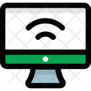 Wifi Connected Pc Icon