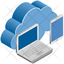 Data Sharing Networking Icon