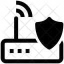 Internet Device Shield Wifi Device Icon
