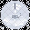 No Internet Connection Internet Error No Network Icon