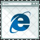 Explorer Webpage Internet Icon