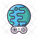 Internet Game Multiplayer Online Game Icon