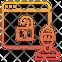 Hacker Internet Browser Icon