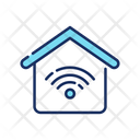 Internet Home Wireless Network Wifi Network Icon