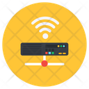 Internet Hub Wireless Router Network Hub Icon
