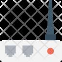 Internet Hub Icon