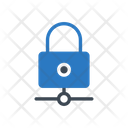 Lock Network Protection Icon
