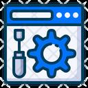 Internet Maintenance Icon